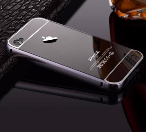 case bumper aluminio para iphone  4, 4s 5, 5s, 5g, 6s plus