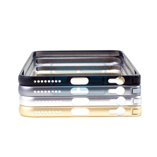 case bumper alumínio ultra fino iphone 6 (5.5) - love mei