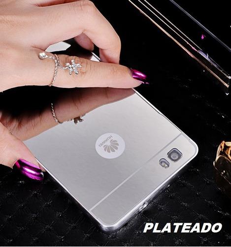 case bumper espejo elegante huawei p9 plus