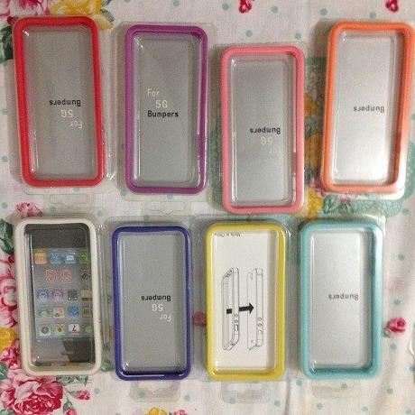 case bumper iphone 5/5s