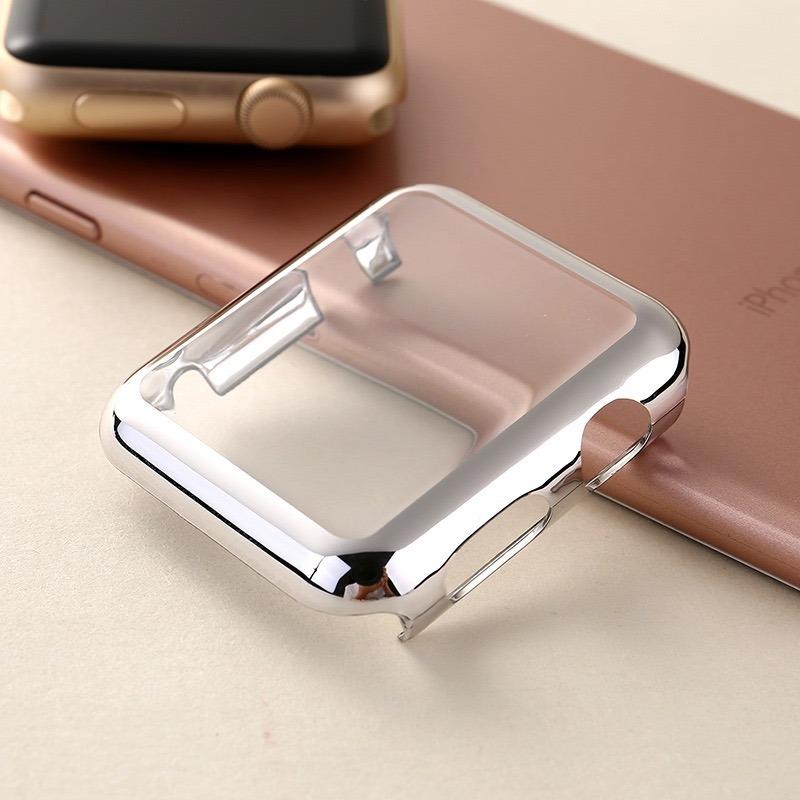 best service 1d562 bdd2a Case Bumper + Pelicula Embutida Apple Watch Series 1. 38mm