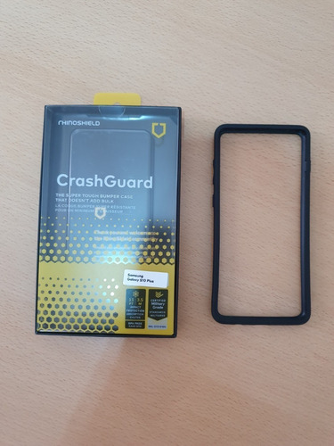 case bumper rhinoshield galaxy s10 plus negro