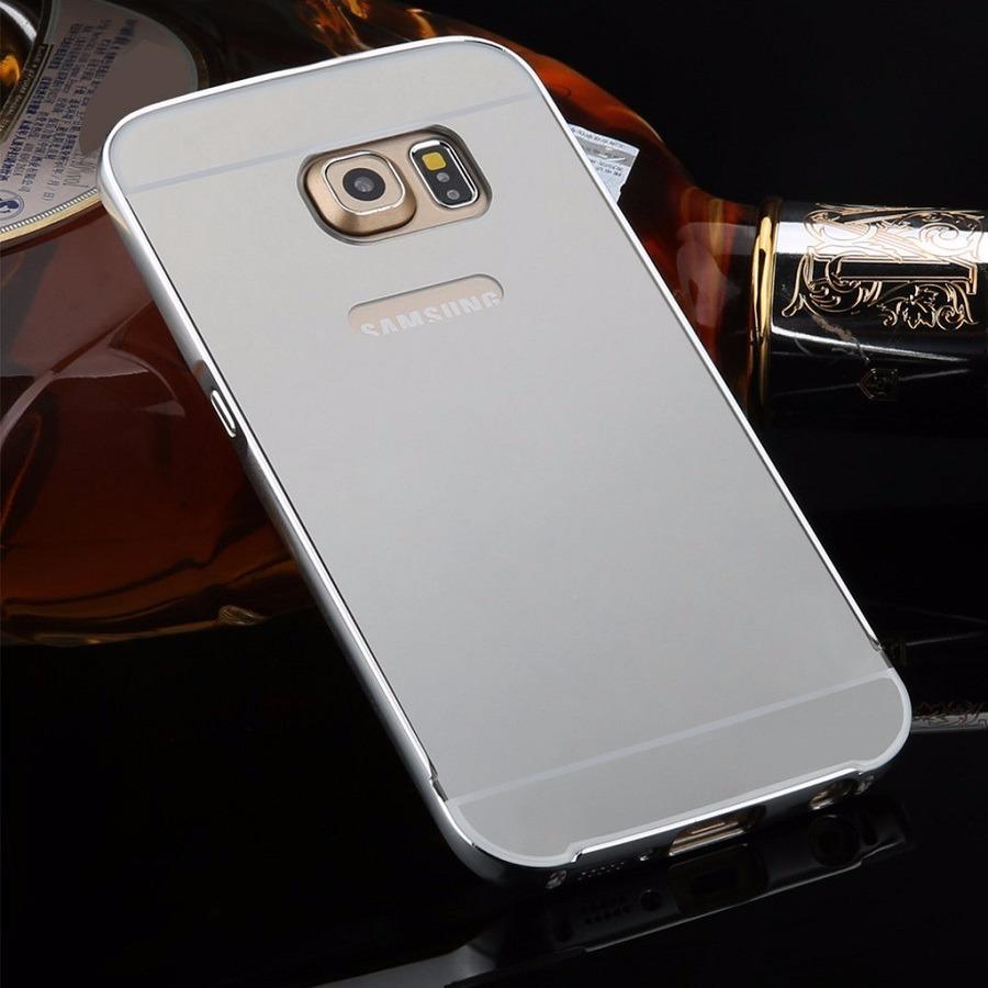 882c93237 case capa bumper alumínio espelhada galaxy s7 edge prata. Carregando zoom.