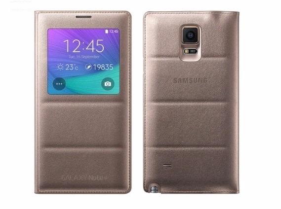 promo code b95f3 18b28 Case Capa Flip Cover S View Original Samsung Galaxy Note 4