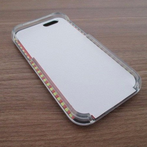 case capa iphone 6 6s nova moda luxo lumee luz led