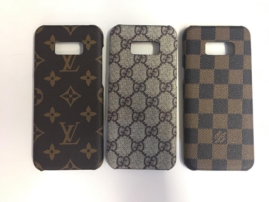 cheap for discount 1b49b 46d85 Case Capa Luxo Grife Paris E Gucci Para Samsung S8 Plus