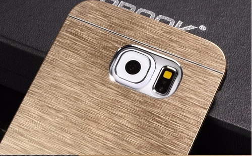 0185ee4f182 Case Capa Metal Motomo Dourado P Samsung Galaxy Note 5 N9200 - R$ 24 ...