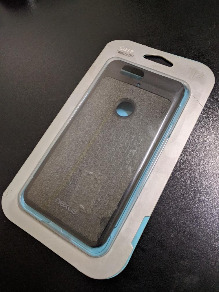 new arrival 463a8 8321b Case Capa Nexus 6p Original Google - Importada
