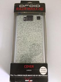 Case Capa Razer Maxx Hd Droid Glitter Prata !!!