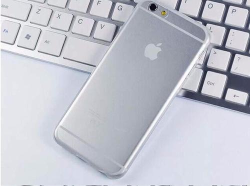 case capa silicone tpu transparente iphone 6 4,7