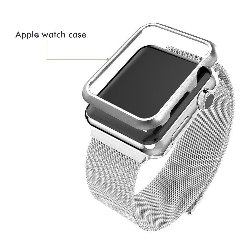 e79fcfc35a0 case capinha apple watch 42mm bumper + película de vidro. Carregando zoom.