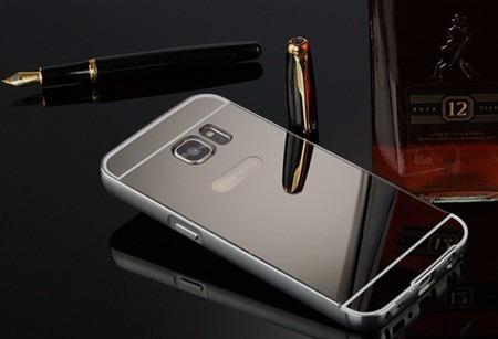 case capinha bumper metal espelhada galaxy s7 g930 tela 5.1