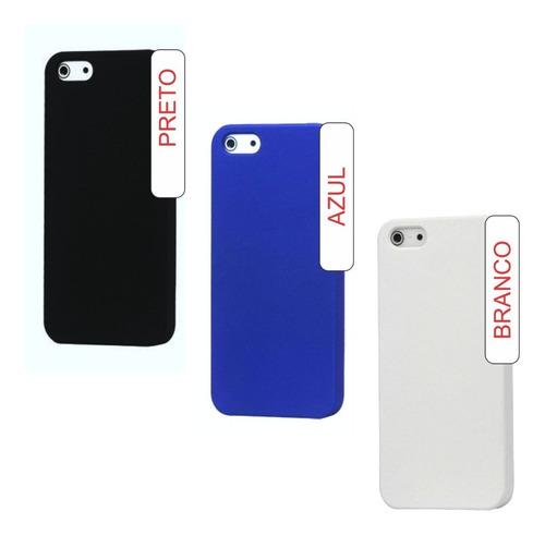 case capinha capa rigida iphone 6 6s 4.7 + pelicula