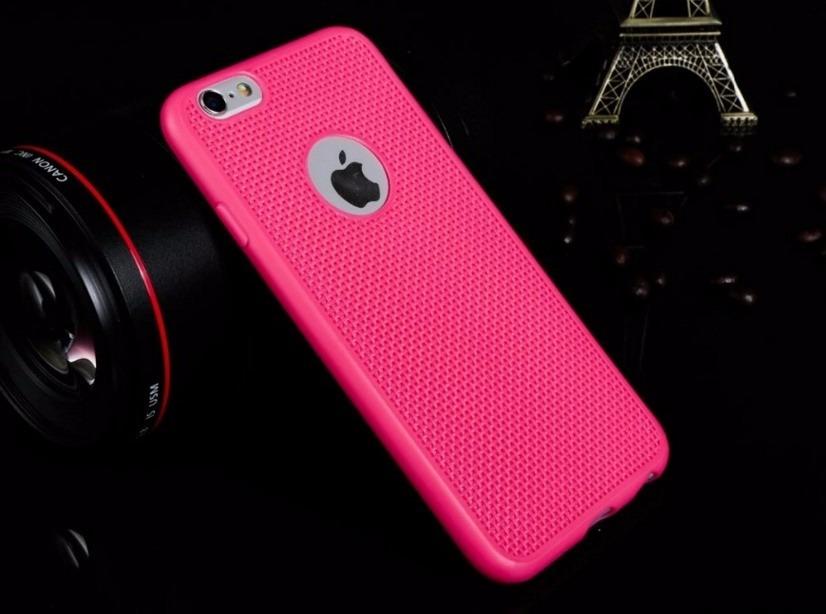 17ae5ea65 case capinha capa silicone rosa pink p apple iphone 6 plus. Carregando zoom.