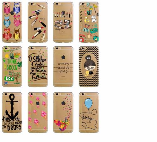 case capinha silicone gocase  iphone 4/4s/5/5s/5c/6/6 plus