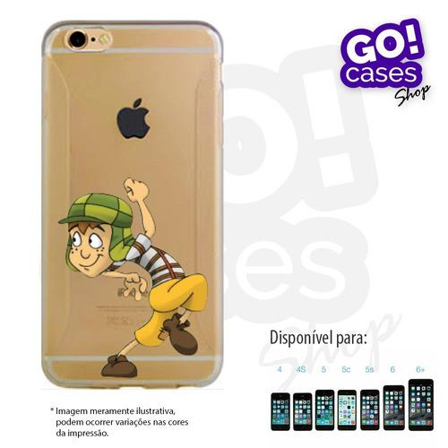 case capinha tpu cascão para iphone 4/4s/5/5s/5c/6/6plus