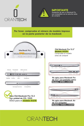 case carcasa funda macbook pro 13 13.3 a1278 diseño flores