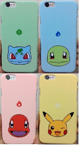 case carcasa funda pokemon iphone 6plus/ 6splus 6 6s 5/5s