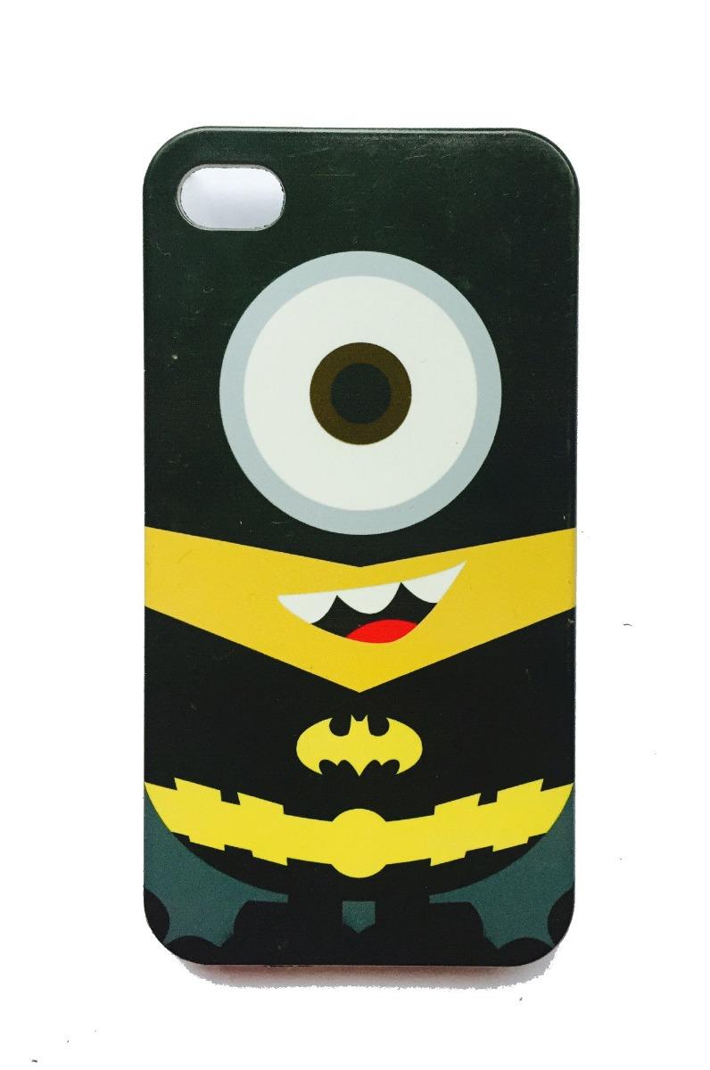 01ec3591fbf Case Carcasa Minion Batman Iphone 4 4s - S/ 15,00 en Mercado Libre