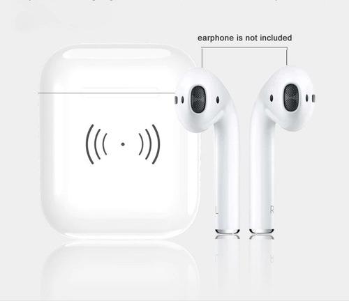 case carga inalámbrica para apple airpods