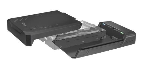 case carry disk trust azal disco hdd 3,5 sata usb 3.1