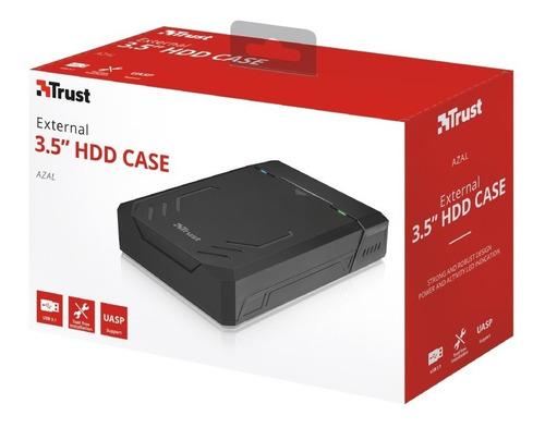case carry disk trust azal disco hdd 3,5 sata usb 3.1 cuotas