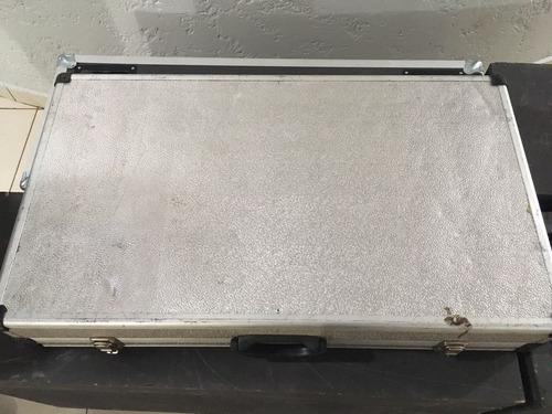 case cdj e mixer alumínio regulável bom estado