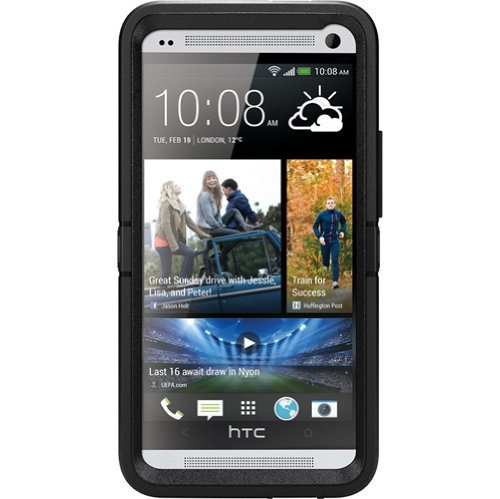 case celular otterbox defender case for htc one m7 - retai