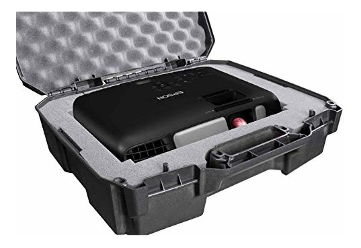 EX3220 EX7240 EX7260 and EX7230 Projectors Plus Cords and Remote Case Club Projector Case Compatible with Epson VS240 EX7235 VS340 VS345 EX3260 EX3240