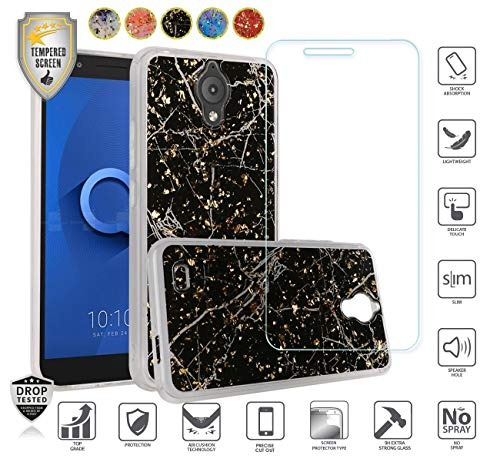 Case Compatible For At&t Axia Qs5509a , Cricket Vision ,