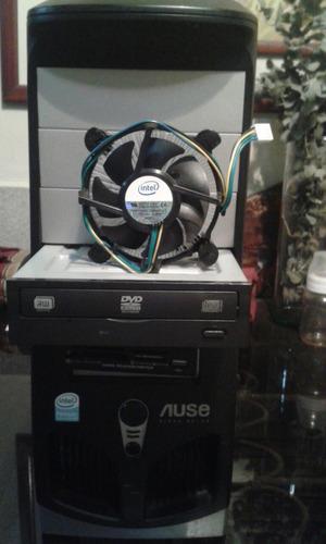 case con procesador dual core y dvdrw imagen real