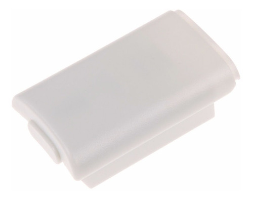 case contenedor de pilas para mandos de xbox 360 blanco