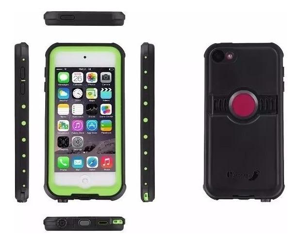 timeless design a2bb3 47061 Case Contra Golpes Survivor iPod Touch 6 Funda Contra Agua