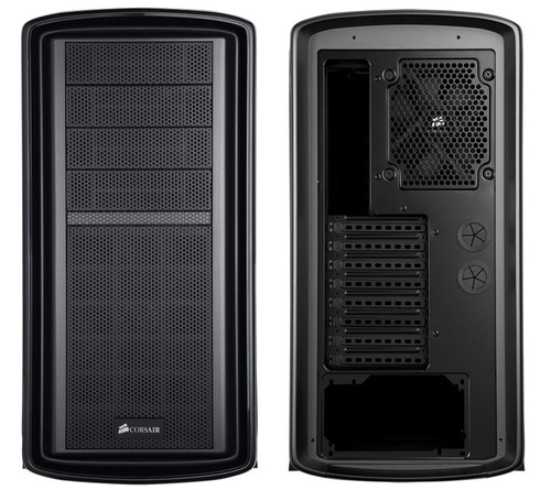 case corsair graphite black 600t mid-tower gaming