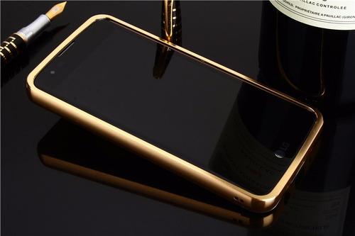 case cover luxury metal bumper lg k8 k10 2017 v10 v20 cromad