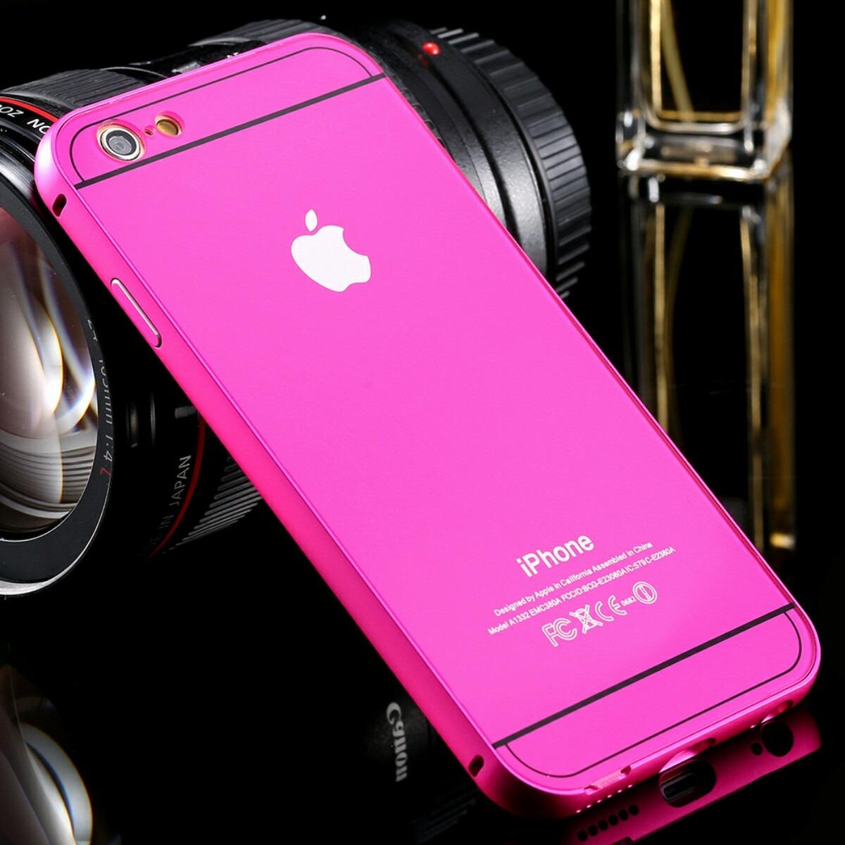 0ca183c716a Case, Cover O Protector Bumper De Aluminio Para iPhone 6 /6s - S/ 60 ...