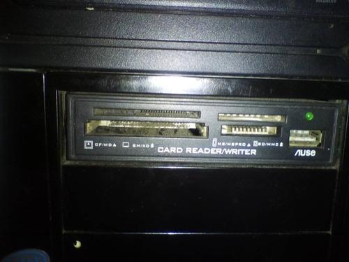 case cpu con fuente de poder, 2 puertos usb y más