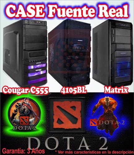 case cpu gamer amd a8-7650k 4gb 320gb video 2gb dota gta v