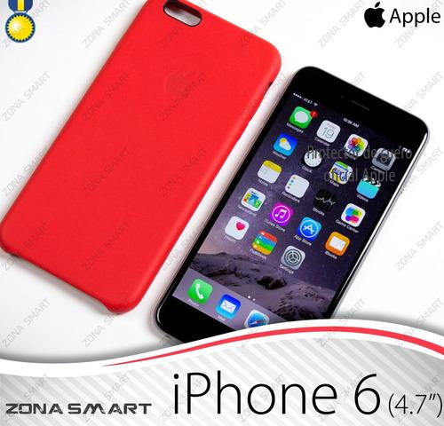 case cuero iphone 6 (4.7) - protector oficial apple