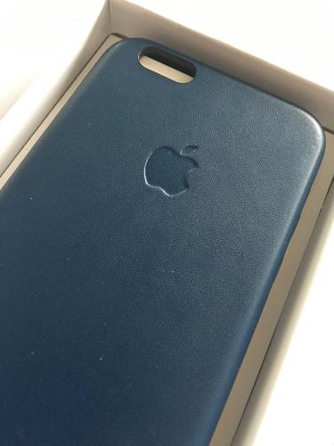 case cuero original iphone caja 5/5s se