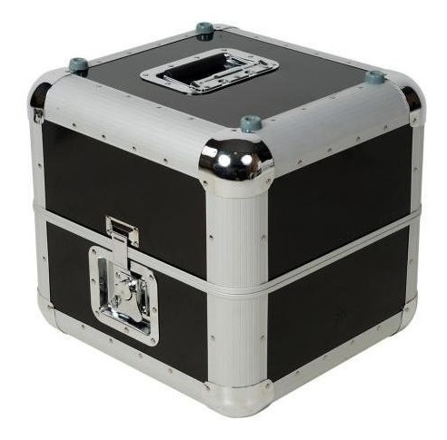 case de aluminio para 100 vinilos musicovinyl envio gratis