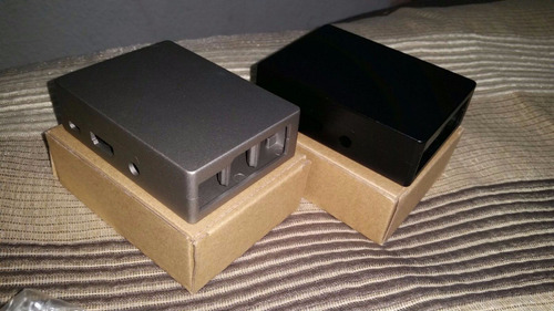 case de aluminio raspberry pi 3 carcasa de metal disipador