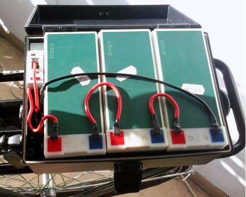 case de bateria em pp tipo caixa para bicicleta elétrica
