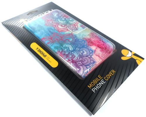 case de couro iphone 6 colorido gamjoy