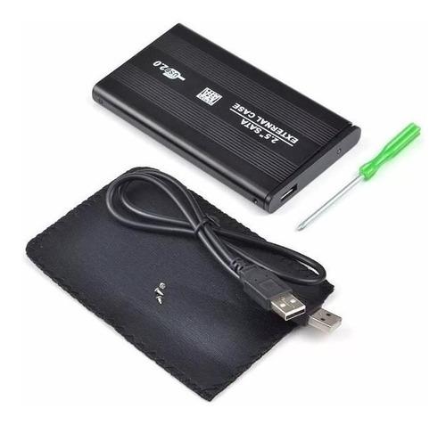 case de disco duro externo  2.5´ laptop a dd color usb 2.0