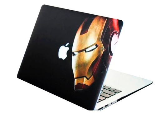 case de iroman y superman macbook air, pro , retina