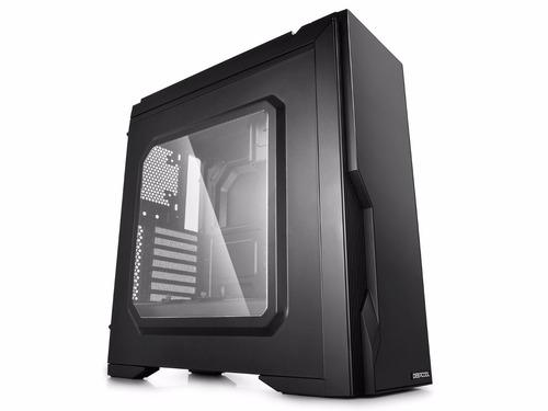 case deepcool dukase v3 ventana gamer s/ fuente black