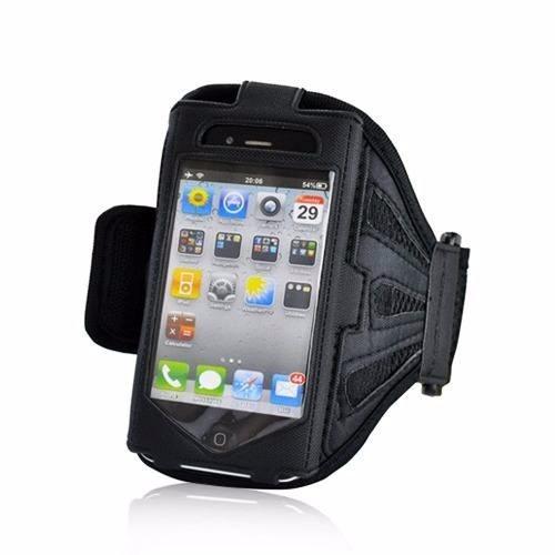 case deportes manos libres iphone 4 negro
