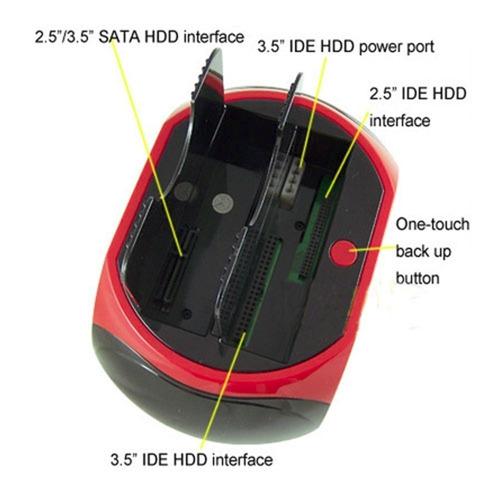 case dock hd all n1 hdd doking usb 2,0 ide/sata khd