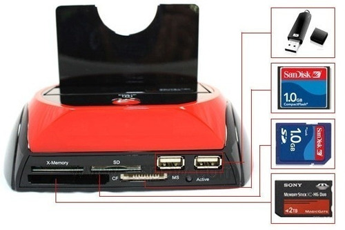 case dock usb hd all n1 hdd doking usb 2,0 ide sata novidade